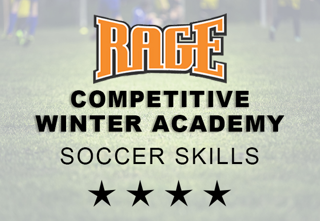 competitive soccer skills winter academy
