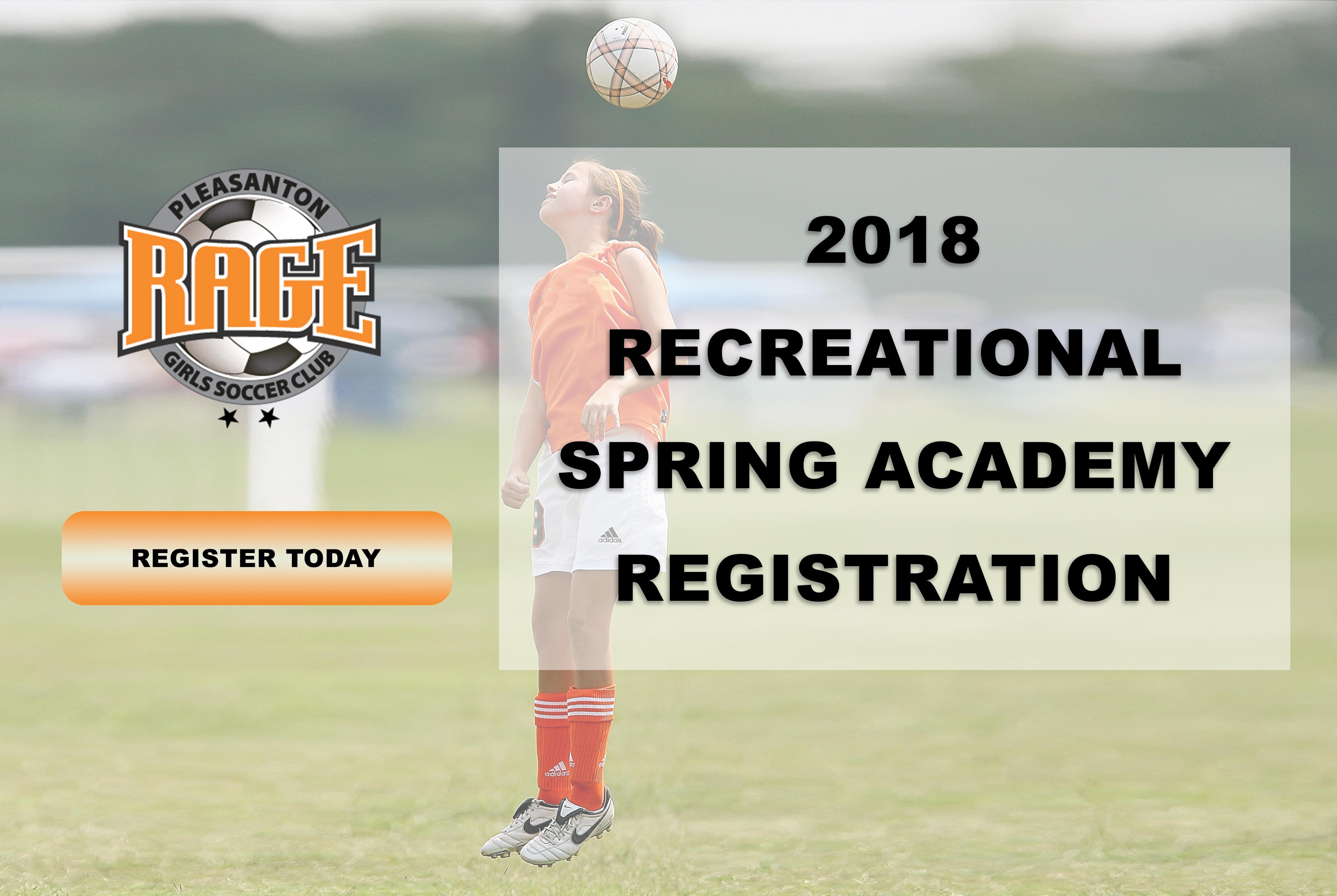 18 spring rec academy