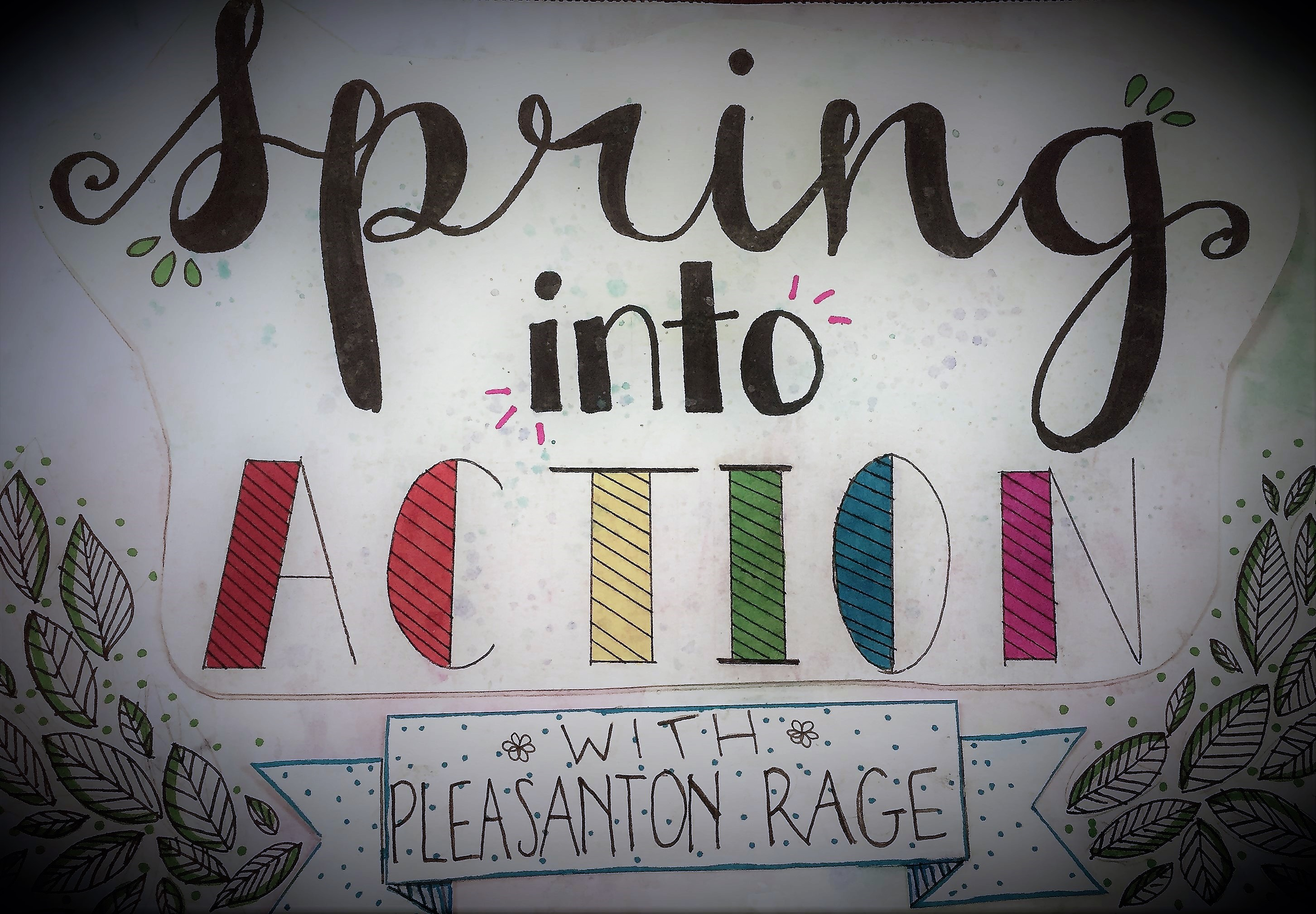 Spring Into Action Artwork