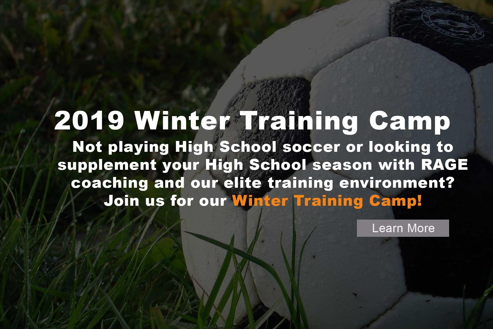 RAGE Winter Training Camp