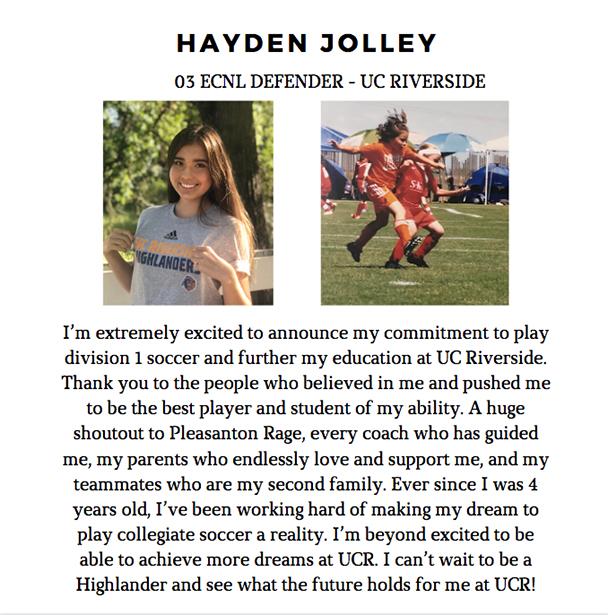 Hayden Jolley