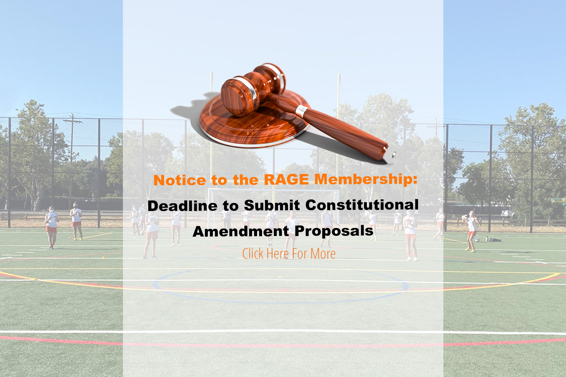 Deadline to submit constitutional changes