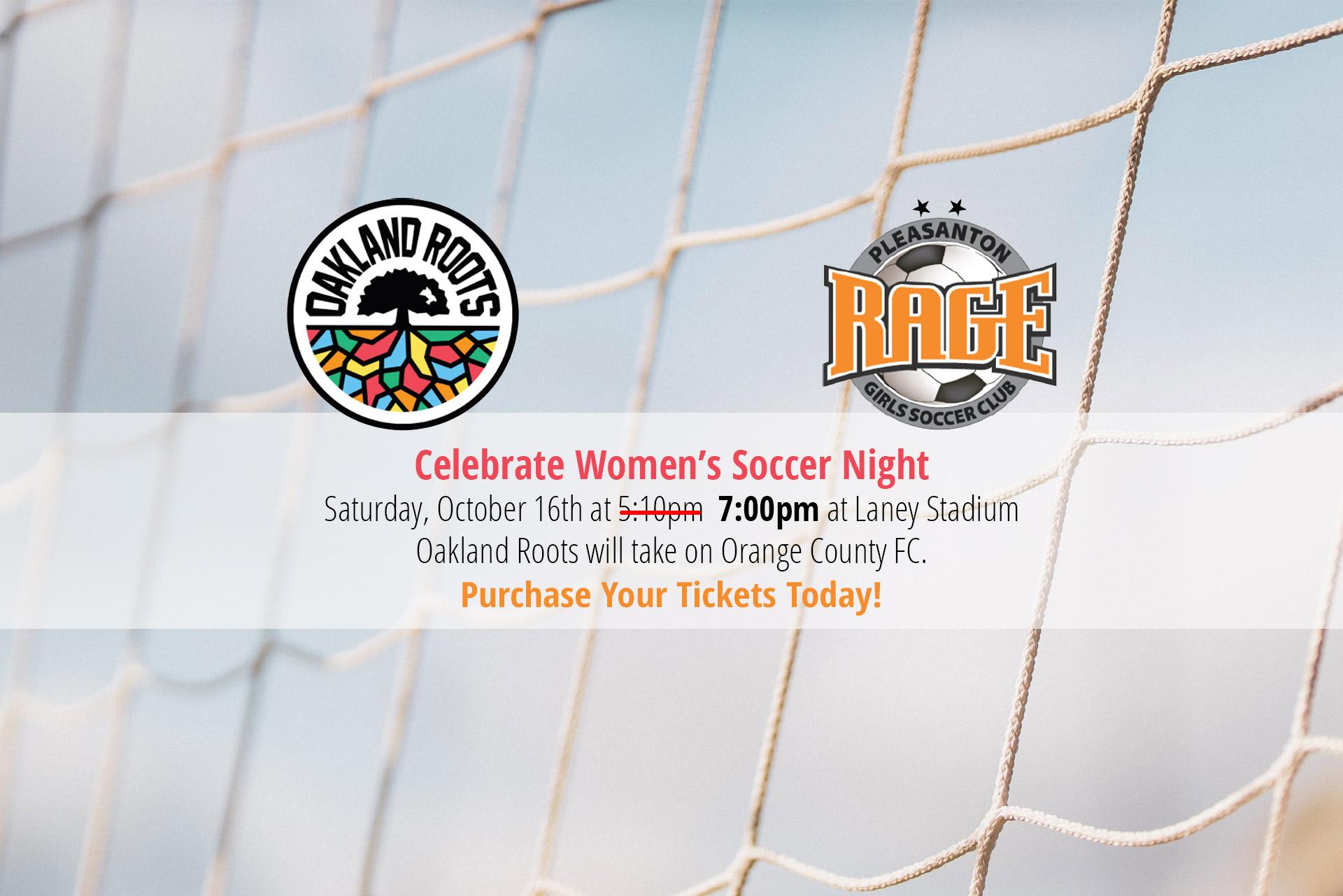 Womens Soccer Night